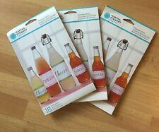 54 Martha Stewart ~ Crafts Vintage Beverage Bottle Labels ~ Cheers ~ NEW