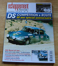Echappement Classic, HS n°4, DS compétition et route, 2014, excellent état, rare