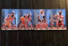 2000 Upper Deck Michael Jordan's Final Shot 4 Collector Plate Set