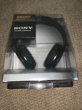 SONY MDR-V150 BLACK DJ Studio Sound Monitoring Stereo Headphones 30mm Driver