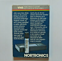 Nortronics Video Head Cleaner New Sealed For Use In All VHS Systems