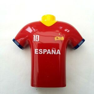 Spain Football T-Shirt Design Pencil Sharpener Double Hole Shave Bin Kids Spanis