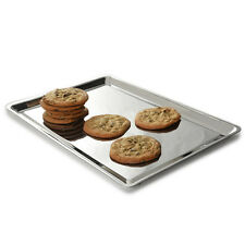 "NORPRO Stainless Steel Jelly Roll Cookie Baking Sheet 12""x 16"" Pan Kitchen Tray"