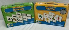 Match It! Rhyme Match It! Numbers The Learning Journey International Puzzle Sets