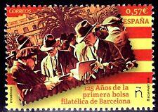 ESPAÑA 2016 1623 125 Aniv.. Primera Bolsa Filatélica de Barcelona  1v.