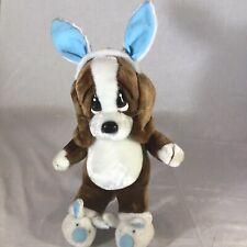 Applause Vintage Sad Sam Hound Dog Plush Stuffed Animal Doll 1986 Easter