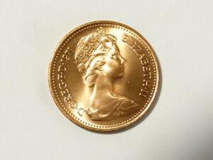 1971 Elizabeth II One New Penny UNC Bag Marks First Decimal Issue MORE #K65