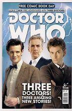 Doctor Who #1 Free Comic Book Day Three Doctors & Three Stories 2015 FCBD