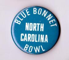 "North Carolina Bluebonnet Bowl 1 3/4"" Pinback Button ... Houston, Texas"