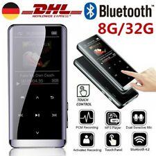 MP3 MP4 Player Bluetooth HiFi Bass Musik Spieler 8/32GB LCD Display FM Radio DE