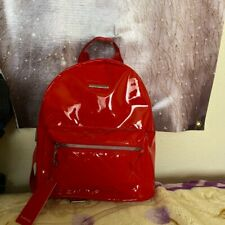 Rampage Red Backpack Purse