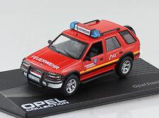 Opel Frontera A Feuerwehr rot 1991-1998 1:43 IXO / Altaya Modellauto