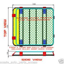 Aluminium Roof Rack Cage 1350mm for Nissan Patrol GU GQ; Toyota LandCruiser 80