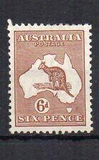 Australia 1929 6d Kangaroo MH