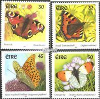 Irland 1275I-1278I (kompl.Ausg.) postfrisch 2000 Einheimische Schmetterlinge