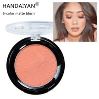 6 Color Matte Balm Blush Rouge Brightening Complexion Nude Makeup Repair Powder
