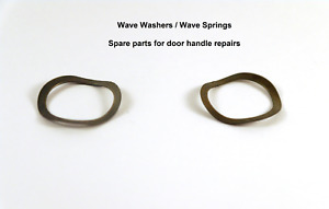 Wave washers / Wave springs spares for Door Handle Repairs. Retains shock.