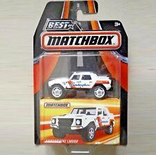 Lamborghini LM002. White. Best of Matchbox. DKC76.  NEW in blister pack!