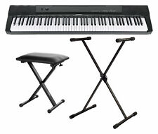 Digital 88 Tasten Keyboard E-Piano Stage Piano 146 Sounds Set Ständer Hocker