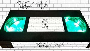 Pink Floyd - The Wall (1982) - Retro VHS Lamp +Remote Control - 70s Rock Movie