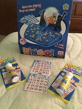 Bingo Automatic Ball Dispenser Game & Paper Sheets & 10 Color Dauber PARTY SET