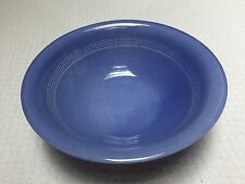 Vintage Homer Laughlin Harlequin Mauve Blue Nappy Bowl
