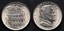 MONACO   1 FRANC 1977  FDC / UNC