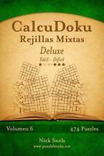 CalcuDoku: CalcuDoku Rejillas Mixtas Deluxe - de Fácil a Difícil - Volumen 6...