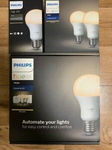 Philips HUE - Starter Kit E27 - White und drei weiter HUE Lampen - NEU