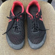 Vivo Barefoot Stealth Outcast Mens Black/Red Running Athlete Shoes  44 M