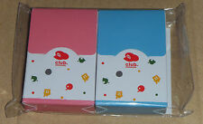 New Japan Nintendo Club Animal Crossing Mini Trump Playing Cards Set (2 decks)