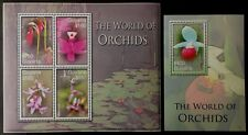 Guyana 2007** klb.7897-00,bl.812 The World of Orchids MNH [13;16,46]