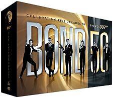 NewBond 50: Celebrating Five Decades of Bond 007 (DVD, 2012, 23-Disc Box Set)Kit