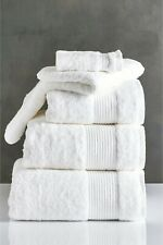 Next Bath Sheet 600gsm 100% Egyptian Cotton White SS07 53