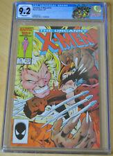 Uncanny X-Men #213 CGC 9.2 (Wolverine vs. Sabretooth; Psylocke joins the X-Men)!
