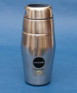 Alessi 870 Stainless Steel Cocktail Shaker Italian Designer Drink Bar