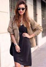 Zara Waist Length Cotton Coats & Jackets for Women
