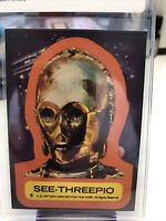 1977 Topps Star Wars See-Threepio Sticker #5