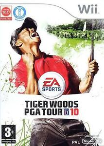 Tiger Woods PGA Tour 10 (Nintendo Wii) 2010 GOLF Game Boxed Disc Manual Complete