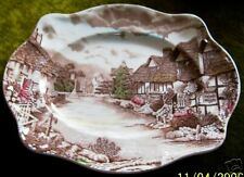 """JOHNSON BROTHERS OLDE ENGLISH COUNTRYSIDE 12"""" OVAL SERVING PLATTER!"""