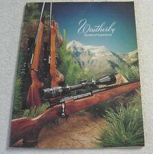 WEATHERBY FIREARMS 1980 GUN CATALOG