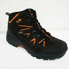New Men's Hiking Boots Waterproof Lace Up Leather & Nylon Comfort Warm, Sizes