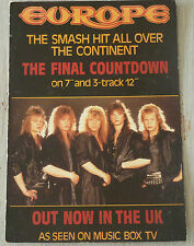 Carte Postale Postcard - EUROPE - The Final Countdown -