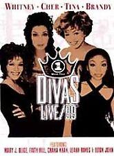 VH1 Divas Live 1999 (DVD, 2000) Whitney Cher Tina Brandy SEALED SnapCase fr/shpg
