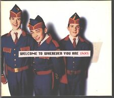 INXS Welcome To Wherever You Are US Trifold Snappack - EXCELLENT