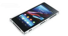 So4 para Sony Xperia z1 l39h aluminio cubierta protectora, bumper, protección case cover funda diapositiva