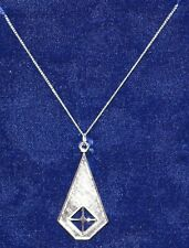 ARCO - Anniversary Necklace - Sterling Silver - 8.34 Grams! RARE!