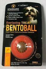 New listing Starmark Everlasting Bento Ball Dog Toy Chew & Treat Small New Bj