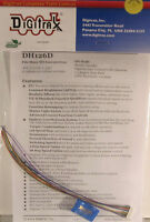 Digitrax HO Scale DH126D 1.5 AMP DCC Decoders 4Pk Free Shipping