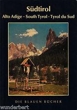 Die BLU Libri - alto ADIGE -alto adige- SOUTH Tyrol - Tyrol du SUD (1963)